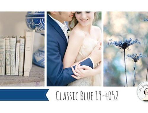 Класика в жанра. Сватбите през 2020 ще бъдат в класическо синьо!